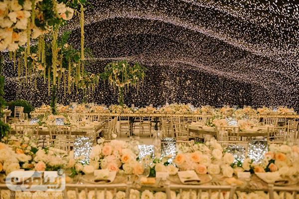 دکوراسیون مراسم عروسی کیارا فراگنی