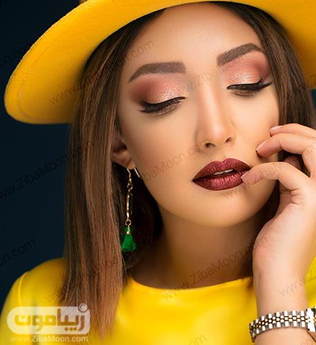 آرایش جذاب ملینا تاج