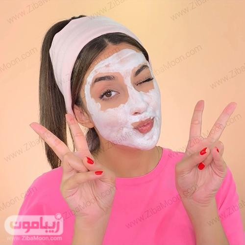 ملینا تاج با ماسک خانگی