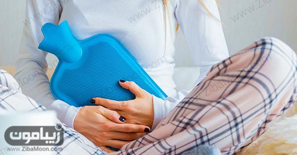 , فواید پریود برای بدن+همراه علت درد شکم هنگام پریود