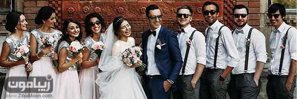ساقدوش عروس و داماد