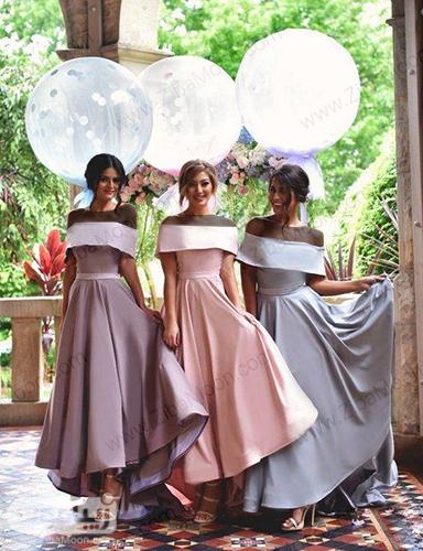 لباس ساقدوش شیک با رنگهای پاستیلی