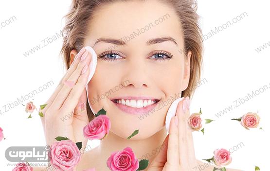خاصیت گلاب برای پوست