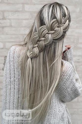 مدل مو باز دخترونه با بافت مو خاص و جذاب