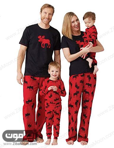 مدل لباس خانگی ست برای خانواده