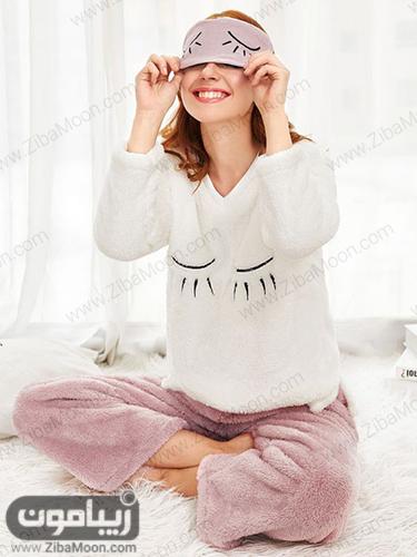 لباس خونگی دخترونه ضخیم و گرم با رنگ های شاده و دلنشین