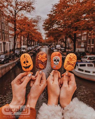 عکس پروفایل پاییزی جذاب مخصوص هالووین