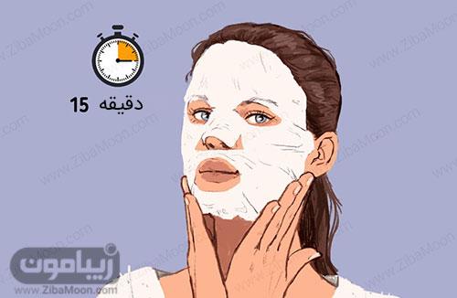 ماسک هیدراته کننده پوست