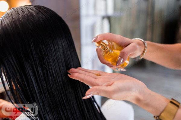 روغن درمانی مو