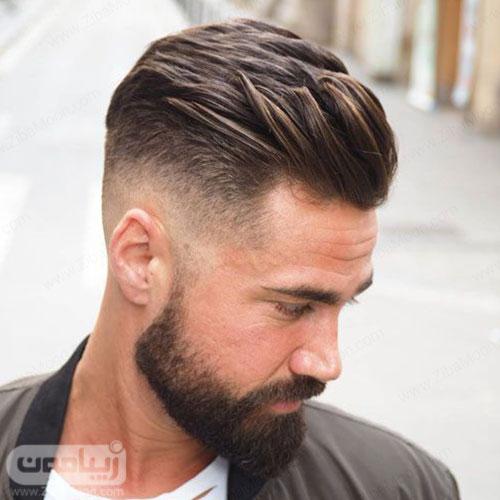 مدل مو مردانه خامه ای شیک و خاص 2020