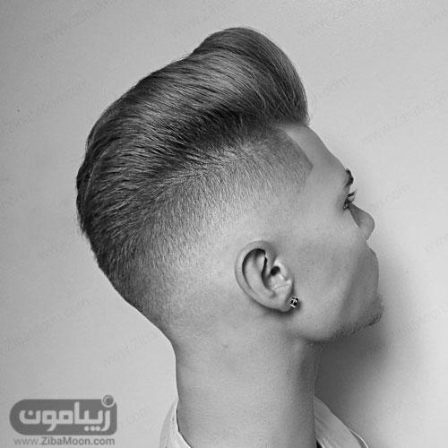 مدل مو پسرانه خامه ای با سایه روشن