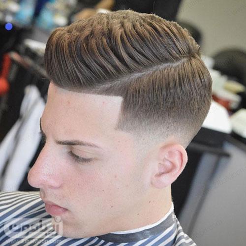 مدل مو سایه روشن ساده برای آقایان