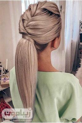 مدل مو باز و اتو شده دخترانه شیک و خاص برای عروس و مهمانی