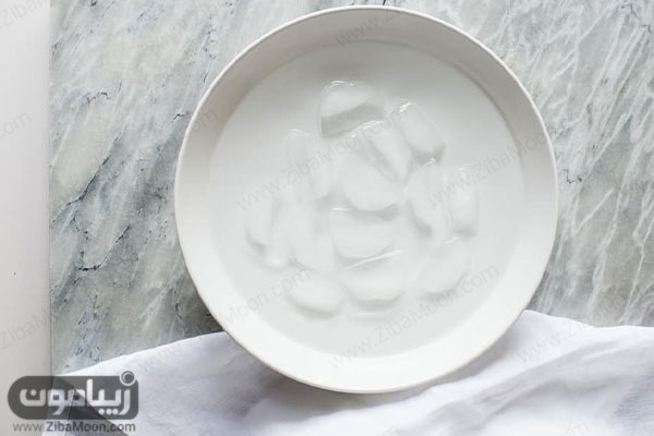 کاسه آب یخ