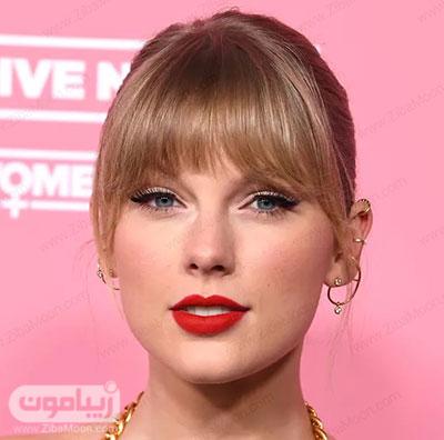 رنگ مو عسلی تیلور سوییفت Taylor Swift