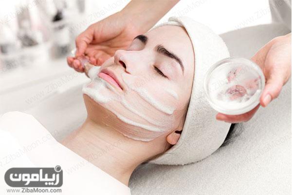 استفاده از محصولات پوستی