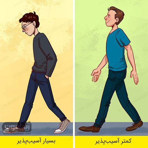 شخصیت شناسی افراد از روی سبک راه رفتن