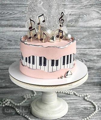 67 مدل کیک تولد دخترانه شیک و جدید - زیبامون