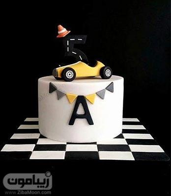 مدل کیک تولد پسرانه ماشینی