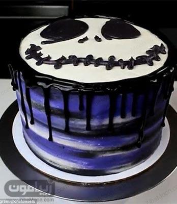 مدل تزیین کیک تولد پسرانه ساده و بامزه