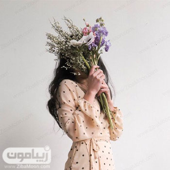 بهترین عکس پروفایل دخترونه با گلهای وحشی