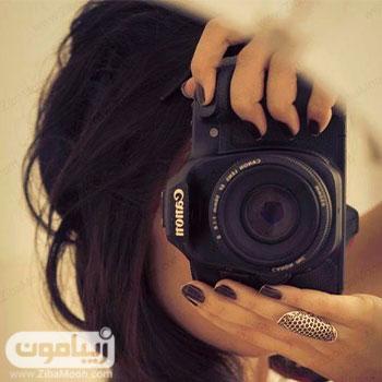 عکس پروفایل دخترانه با دوربین عکاسی