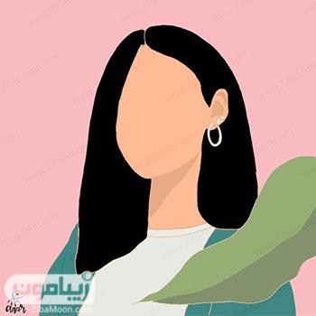 عکس پروفایل دخترانه نقاشی شده و جدید