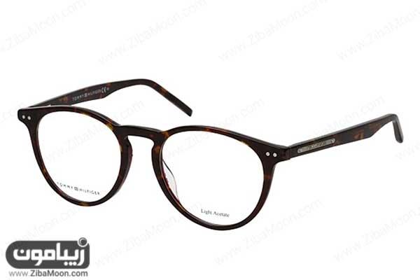 عینک طبی مردانه 2020 با فریم گرد