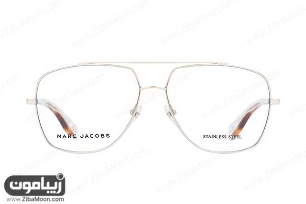 عینک طبی مردانه با فریم خلبانی بزرگ