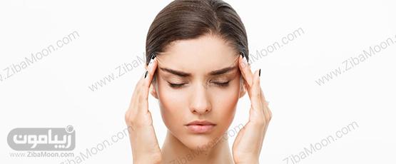 , تاثیرات منفی استرس بر روی پوست و بدن