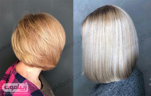 کوتاهی و رنگ مو