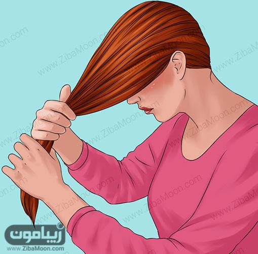 مو بلند زنانه