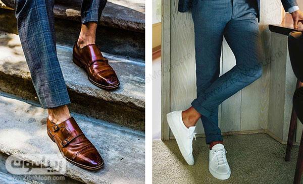 کفش و جوراب کوتاه