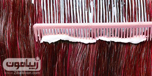 رنگ کردن مو در خانه