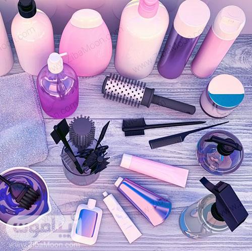 وسایل مورد نیاز رنگ کردن مو در خانه