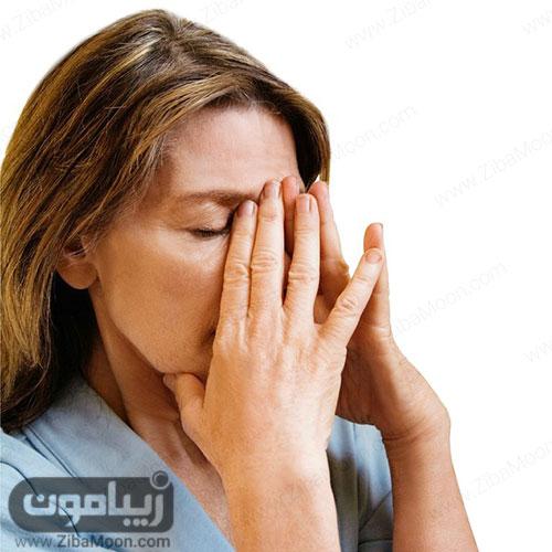حساسیت پوستی در اطراف چشم