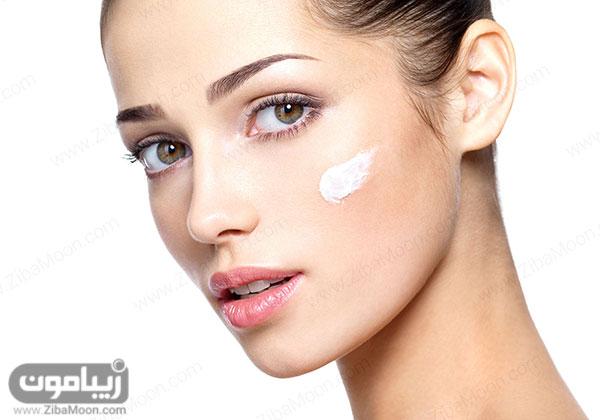 زینک اکساید روی پوست صورت