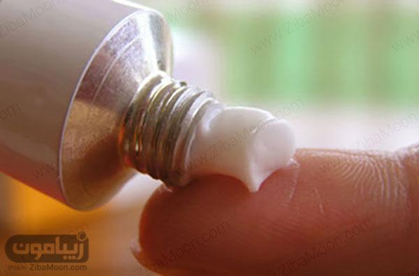 استفاده از پماد زینک اکساید