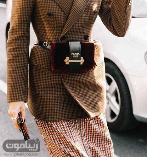 کیف کمری زیبا و خاص برای دختر خانمها