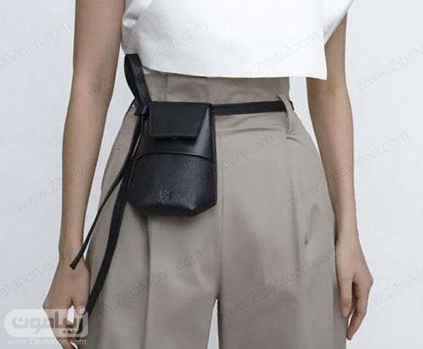 مدل کیف کمری شیک دست دور دخترانه