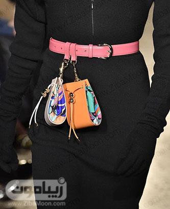 مدل کیف کمری فانتزی و خاص برای استایل خانم ها