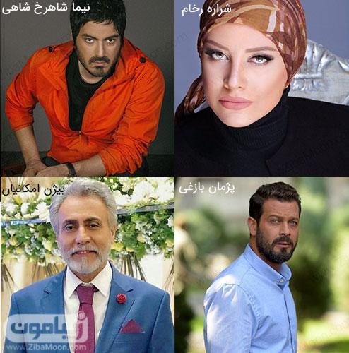 بازیگران ایرانی مرداد ماهی