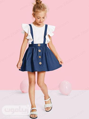 مدل سارافون لی بامزه و خاص برای دختر بچه ها