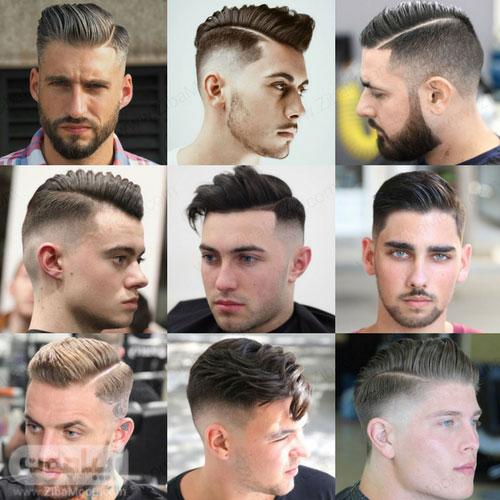 مدل مو یکطرفه مردانه