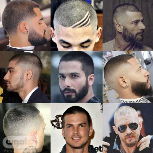 مدل مو مردانه تراشیده شده