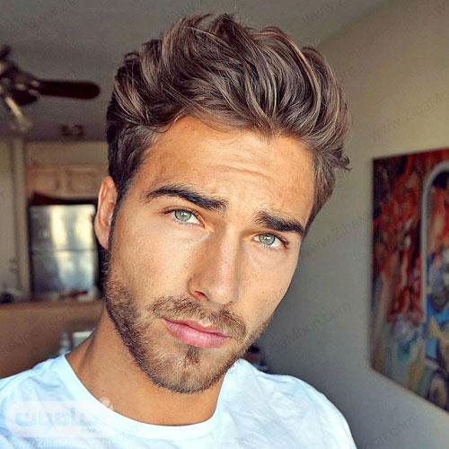 مدل مو مردانه ایرانی ساده و شیک
