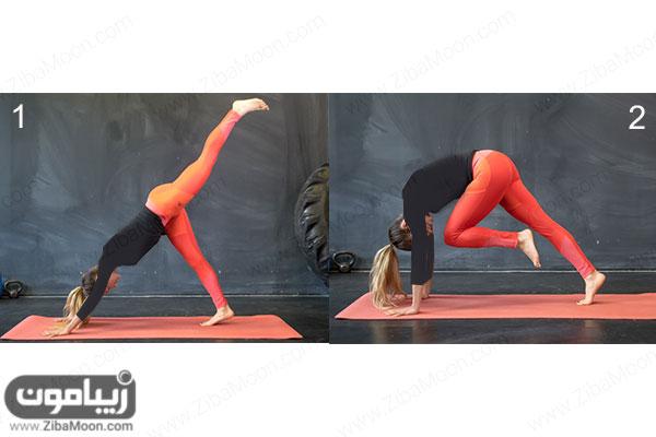 تمرینات یوگا برای لاغری