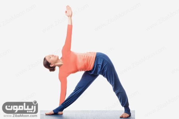 تمرین کشیی یوگا برای لاغری
