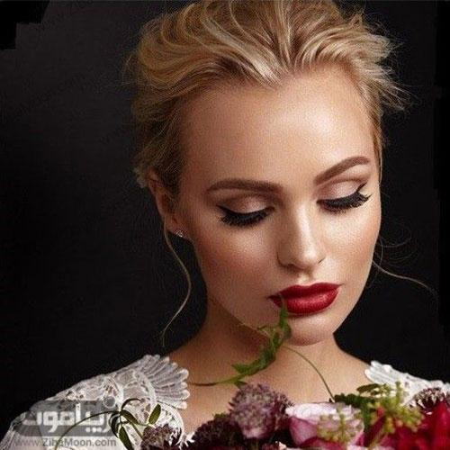مدل عروس شیک و زیبای اروپایی