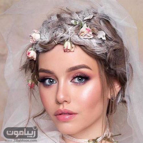 مدل میکاپ عروس زیبا به سبک بوهو